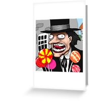 The Child Catcher Greeting Card