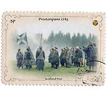 Outlander/Prestontpans stamp Photographic Print