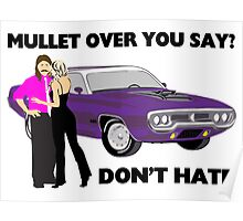 Mullet Over Think Again Poster