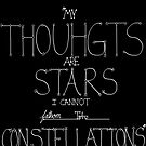 Thoughts Like Stars, TFIOS by booklils
