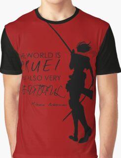 Beautiful, Cruel World Graphic T-Shirt