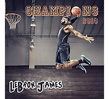 Cavaliers win Basketball Championship as LeBron James Photographic Print