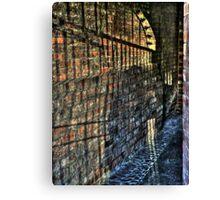 Alley of Shadows Canvas Print