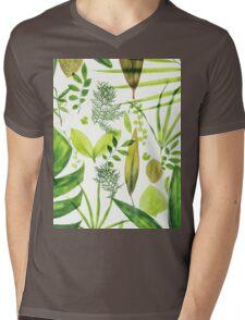Foliage Mens V-Neck T-Shirt