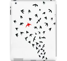 Unique bird iPad Case/Skin