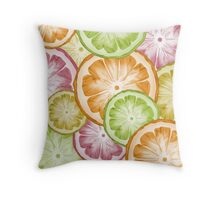 citron  Throw Pillow