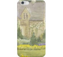 Walled Garden Newstead Abby iPhone Case/Skin