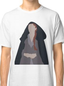 Porcelain, Ivory, Steel. Classic T-Shirt