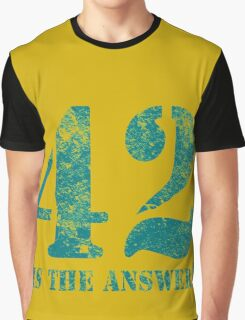 42 is the answer to everything Graphic T-Shirt