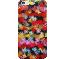 Colorful brush strokes iPhone Case/Skin