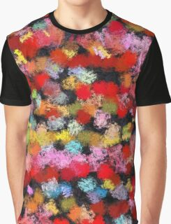 Colorful brush strokes Graphic T-Shirt