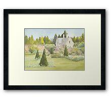 Walled Garden Newstead Abby #2 Framed Print