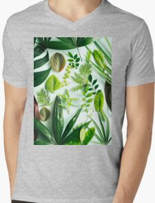 Foliage 2 Mens V-Neck T-Shirt