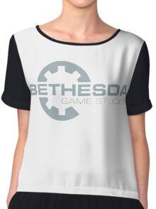 Bethesda game studios Chiffon Top