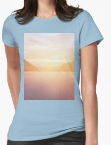 landscape 01 Womens Fitted T-Shirt
