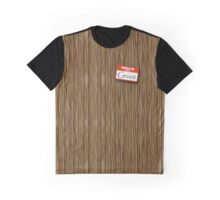 I am Groot Name tag Graphic T-Shirt