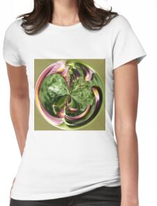 Infinity in the globe Womens Fitted T-Shirt