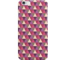 Geo Print Warm iPhone Case/Skin