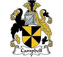 Campbell Coat of Arms / Campbell Family Crest Photographic Print