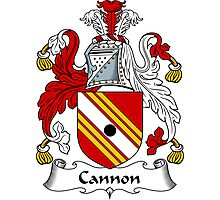 Cannon Coat of Arms / Cannon Family Crest Photographic Print