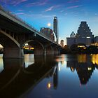 Austin Skyline Images - The View from beneath Congress Bridge 1 by RobGreebonPhoto