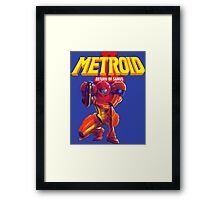 Metroid 2 Framed Print