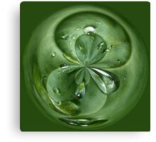 Join me for a drop Canvas Print