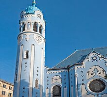 The Church of St. Elizabeth, Bratislava. by FER737NG
