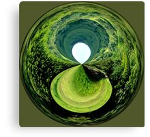 Black Hole in the Moor Canvas Print