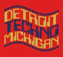 Detroit techno michigan One Piece - Short Sleeve