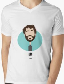 Lil Dicky Mens V-Neck T-Shirt