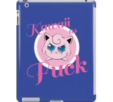 kawaii as fuck iPad Case/Skin