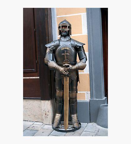 Knight armour. Photographic Print