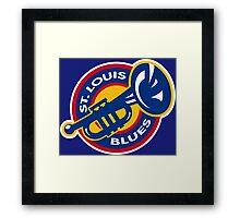 ST. LOUIS BLUES HOCKEY Framed Print