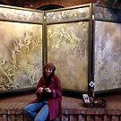 Art Screen in perfect location . . . . by evon ski