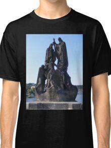 Black Statue Classic T-Shirt