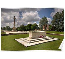Hooge Cemetery  Poster