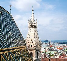 Stephansdom, St. Stephan's Cathedral, Vienna. by FER737NG
