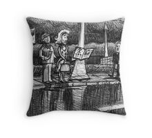 in the twinkling of an eye Throw Pillow