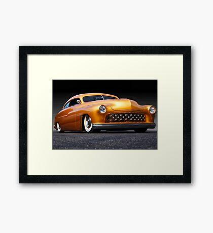 1950 Mercury Custom Coupe  Framed Print