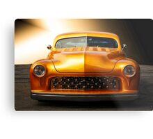 1950 Mercury Custom Coupe 'Grill Detail' Metal Print