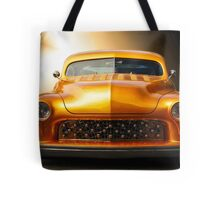 1950 Mercury Custom Coupe 'Grill Detail' Tote Bag