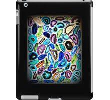 Psychedelic Garden of Agates, Mosaic Art iPad Case/Skin