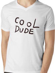 Cool Dude Tee Mens V-Neck T-Shirt