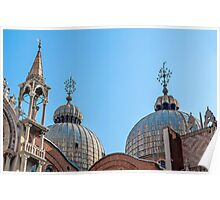 San Marco Basilica. Poster