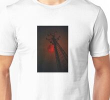 Strawberry Moon Tower Unisex T-Shirt