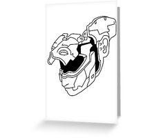 TETE ROBOT GHOST IN THE SHELL Greeting Card