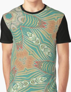 Rainforest Teal Graphic T-Shirt