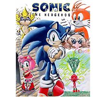 SONIC ADVENTURE!! Photographic Print