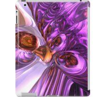 Purple Butterfly Abstract iPad Case/Skin